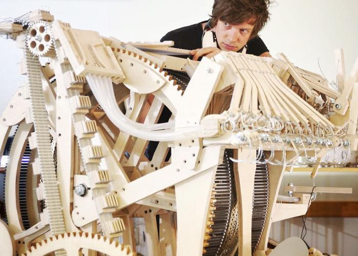 WINTERGATAN MARBLE MACHINES